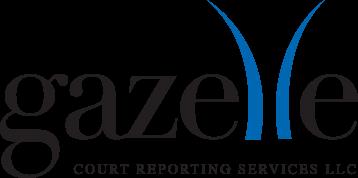 Gazelle Court Reporting Logo